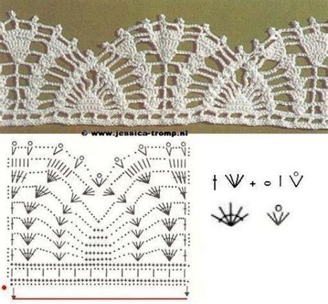 puntillas a crochet on pinterest ganchillo crochet las m 225 s belas puntillas y bordes de crochet