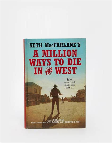 a million from home now what books books a million ways to die in the west book at asos