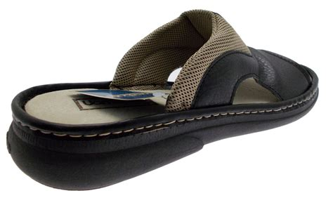 ciabatta slippers ciabatta sabot open faux leather black 760 uomodue by