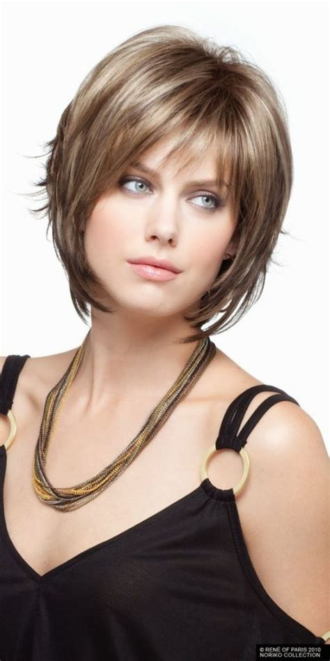 short haircut over fifty woman double chin 12 short hairstyles for round faces with double chin