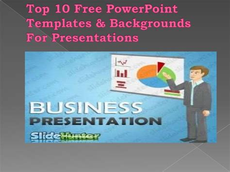 top 10 free powerpoint templates backgrounds for