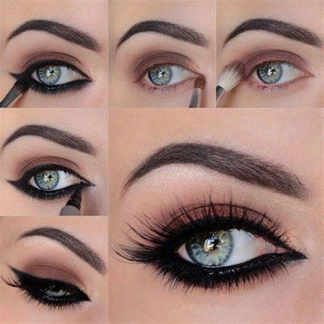 Simple Eyeshadow Ideas Step By Step | 21 easy step by step makeup ideas london beep