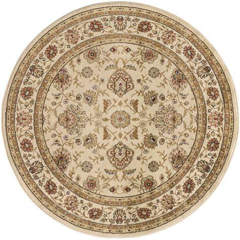 tayse rugs elegance beige 7 ft 10 in x 7 ft 10 in - 10 Ft By 7 Ft Rugs