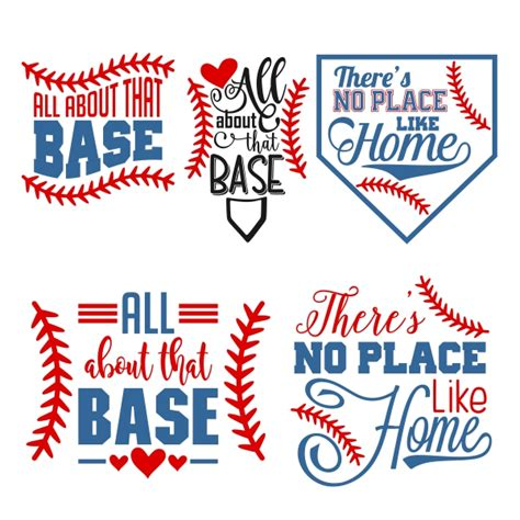 free home design no home plate baseball cuttable design