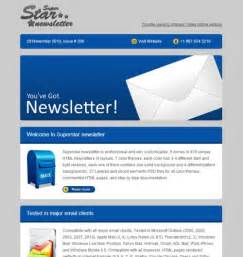 html email newsletter templates free 40 best html email newsletter templates