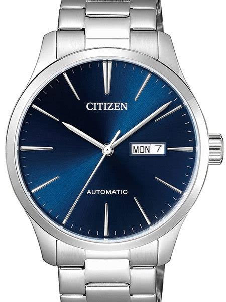 Citizen Automatic Mens Watch with Blue Dial #NH8350 83L
