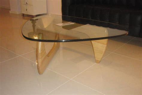 replica salontafel design cool noguchi design salontafel glas beuken of zwart hout