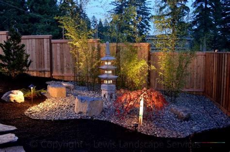Ideas Japanese Landscape Design Garden Design Ideas With Pebbles