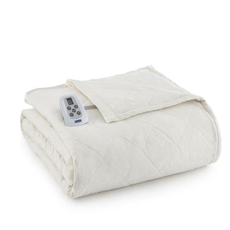 heated comforter 100 micro flannel micro flannel 174 electric heated