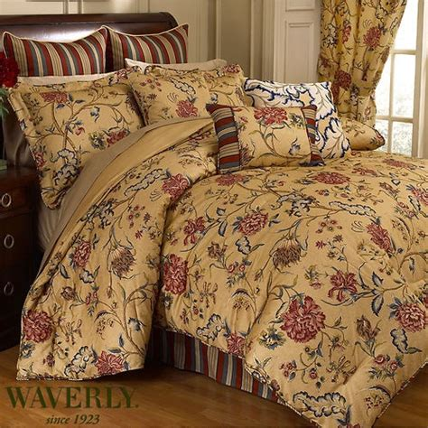 waverly spice of comforter set king bedding
