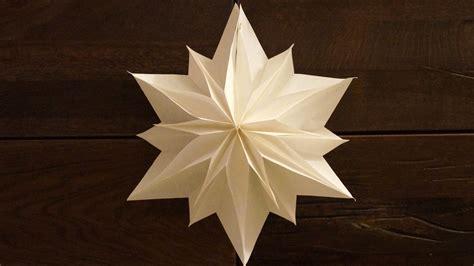 Basteln Sternen by Einfache Sterne Zu Weihnachten Basteln Paper