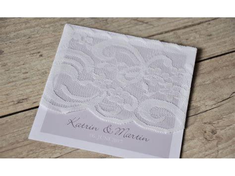 Einladungskarten Mit Spitze by Einladungskarten Hochzeit Vintage Spitze