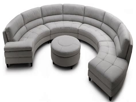 half round couches contemporary sofas half round sectional sofa half circle