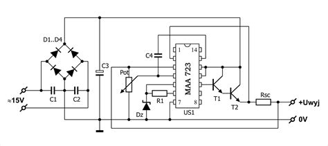 integrated circuit security techniques using variable supply voltage gt circuits gt ic 723 tip41 laboratory power supply variable voltage l20589 next gr