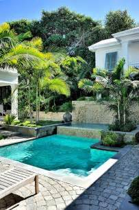 tropical garden around swimming pool http lomets com