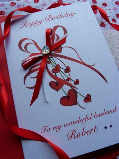 handmade cards for husband handmade husband birthday cards www pixshark