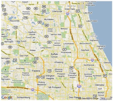 Section 8 In Chicago Suburbs by Map Of Northern Chicago Suburbs Pictures To Pin On