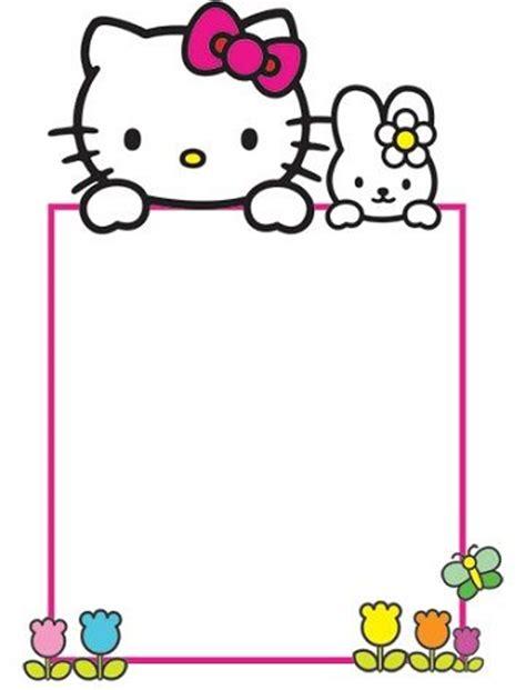 imagenes de kitty para imprimir gratis invitaciones de cumplea 241 os de hello kitty para imprimir gratis