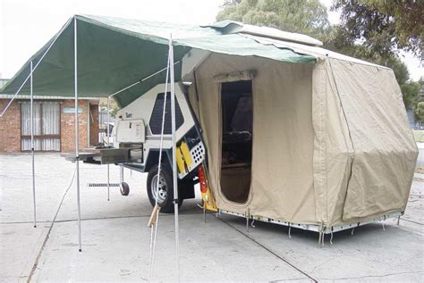 van tents awnings track trailer company history australian made since 1985