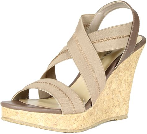 stride sandals cl by laundry womens in stride wedge sandals ebay