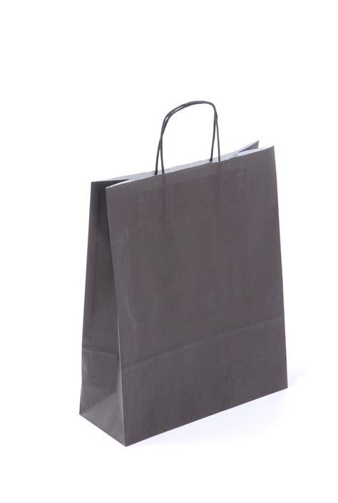 A Paper Bag - premium quality paper bag black
