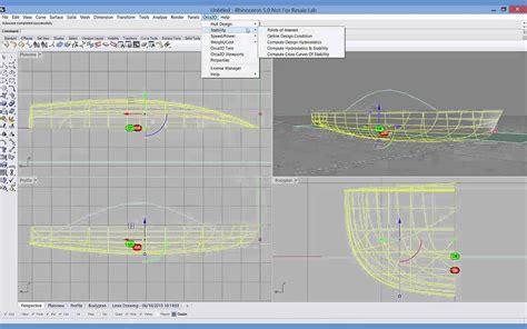 Wooden Boat Design Software