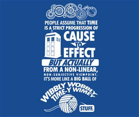 timey wimey t shirt – wibbly wobbly timey wimey doctor who