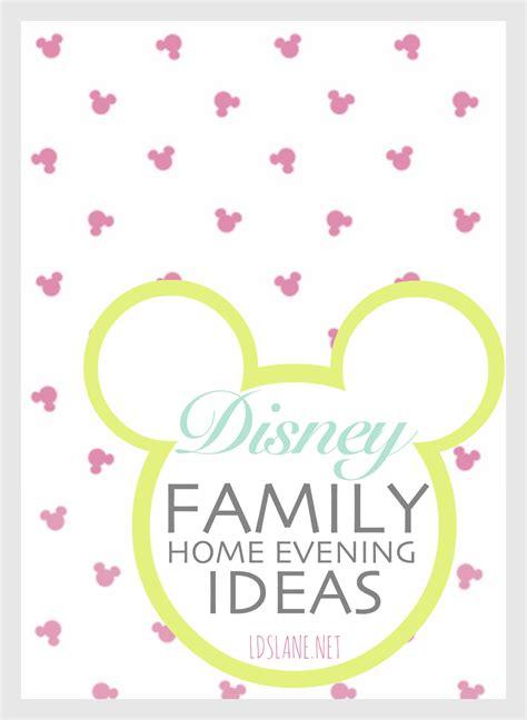 family home evening disney