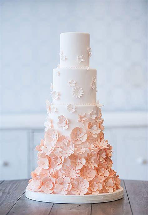 peach wedding cakes,peach wedding cake gallery