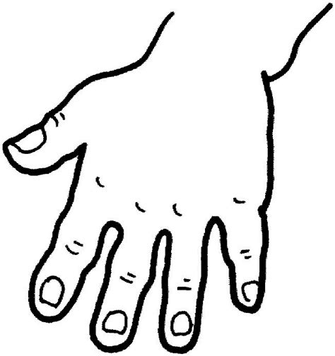 Hand Washing For Kids Coloring Pages - hand coloring pages getcoloringpages com