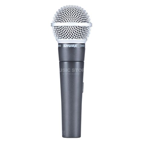 mic microphone kabel shure sm shure sm 58 se with switch dynamic microphone