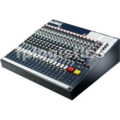 Soundcraft Rack Mount Mixer by Soundcraft Fx16ii 16 Channel Mixer Mixing Console W