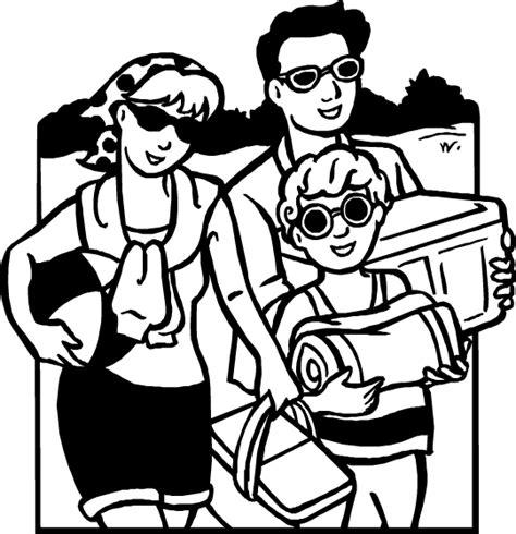 imagenes de vacaciones para colorear vacaciones dibujos para colorear dibujos1001 com