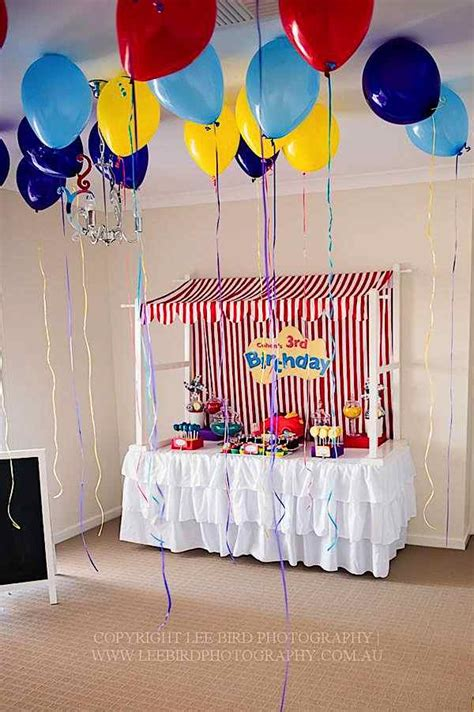 Boat Awning The Wiggles Themed Third Birthday Party Kara S Party