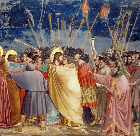 Betrayal In The Louvre giotto 171 el beso de judas 187 1304 1306 fresco 200 x 185