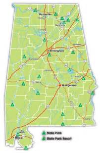 Alabama State Parks Map alabama state parks alabama pinterest