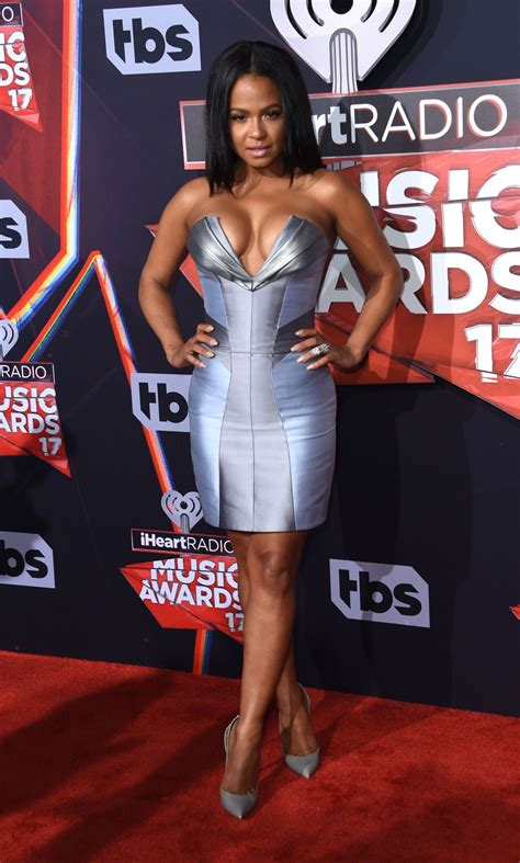 Christina Milian At 2017 iHeartRadio Music Awards in ... Iheartradio Awards 2017