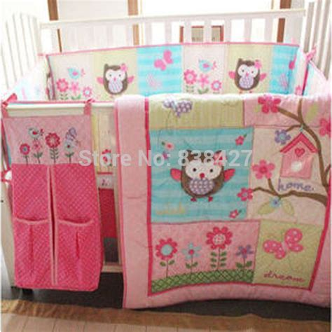 baby girl owl crib bedding online get cheap owl baby bedding aliexpress com