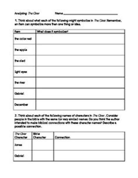 Giver lesson plans on Pinterest | The Giver, Lois Lowry