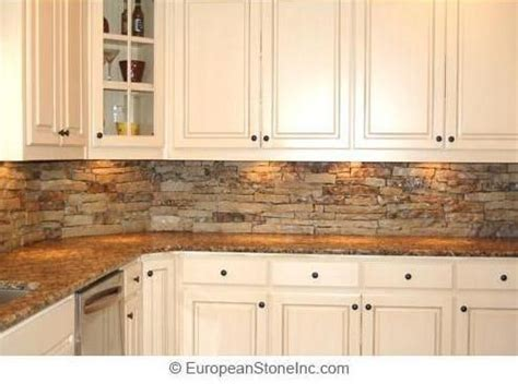 stacked stone kitchen backsplash pictures of stacked stone backsplash kitchen backsplash