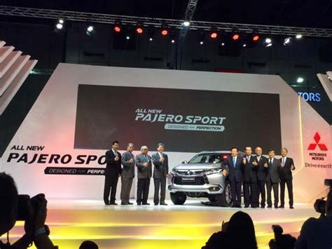 Cover Handel All New Fortuner Model Sporty 2016 mitsubishi pajero sport launches in thailand india