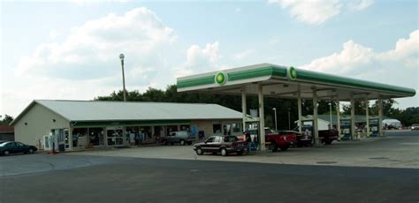 Interior Home Colors Bp Fuel Station Comer Buildings