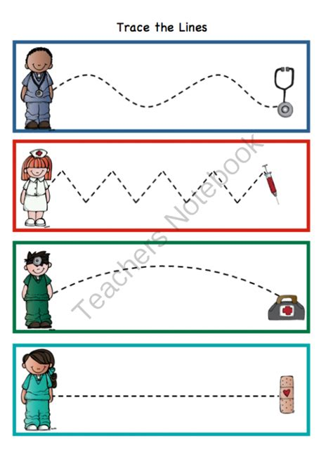 Doctor Worksheets For Kindergarten by 1000 Images About Community Helpers Take Week On