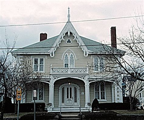 Gothic Revival Homes | 19th century archtecture houses