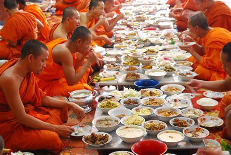 new year monk food pchum ben day indochinatravel