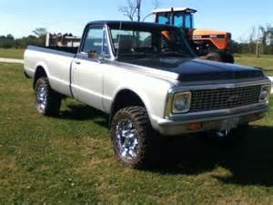 1972 Chevy Truck Custom Wheels Purchase New Chevy C10 1972 Truck Lifted Restored 4wd