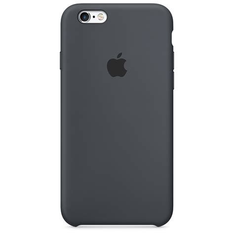 coque en silicone iphone  gris anthracite apple fr