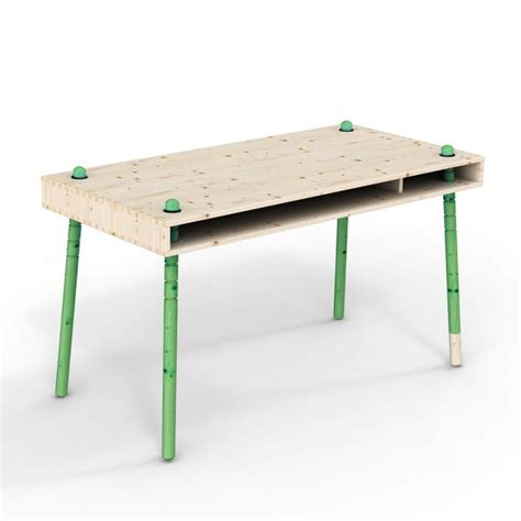 bureau enfant evolutif caspar bureau enfant 233 volutif pieds verts perludi pour