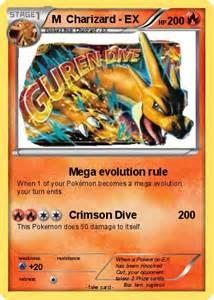 Ex M by Pok 233 Mon M Charizard Ex 6 6 Mega Evolution Rule My
