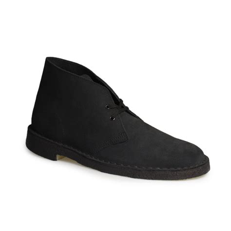 clarks navy blue leather desert boots shoes size 7 11